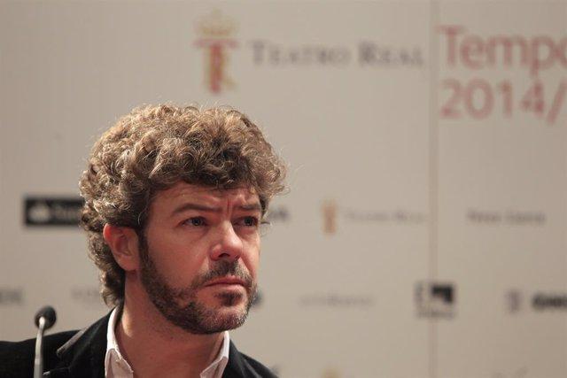 Pablo Heras en la presentació del Públic
