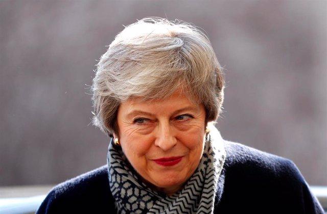 Brexit.- El Parlamento británico apoya la segunda prórroga de May en la víspera