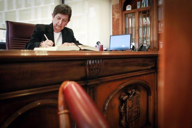 Teresa Cunillera (delegada del Gobierno en Catalunya) de visita en Andorra