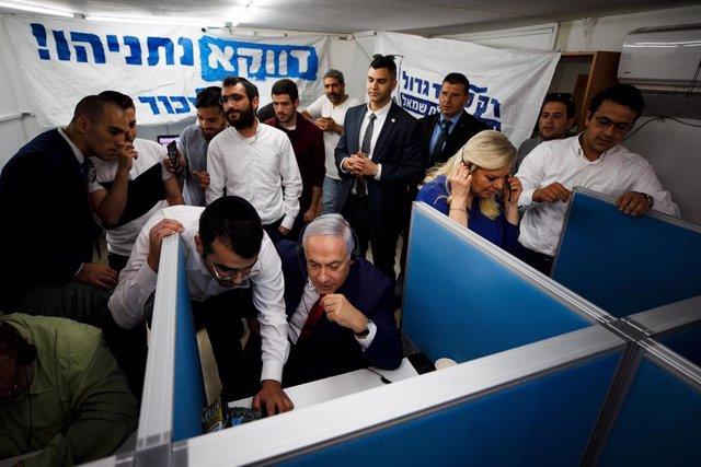 EXCLUSIVE: Netanyahu on election day