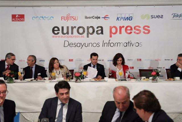 Desayuno Informativo de Europa Press con Isabel Díaz Ayuso