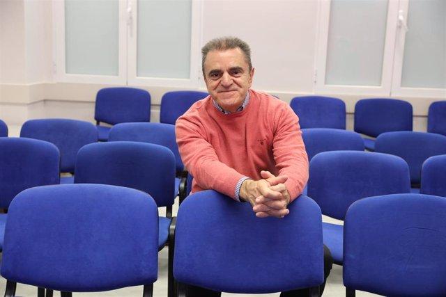 Retratos del portavoz del PSOE en la Comunidad de Madrid, José Manuel Franco