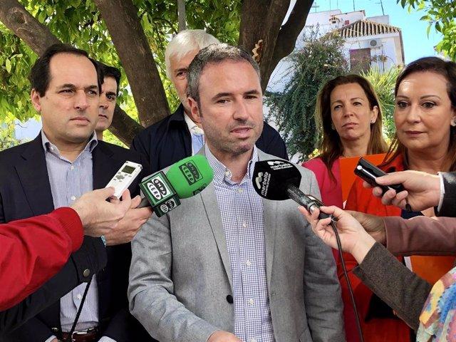 """Málaga.- 28A.- Díaz dice que Cs es """"el único partido que ha apostado por el recr"""