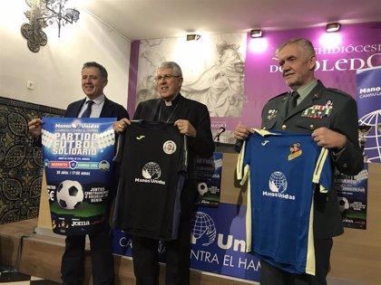 Curas y guardias civiles se enfrentarán en un partido de fútbol en Toledo para recaudar fondos