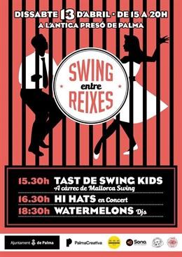 El festival 'Swing entre rejas' recala este sábado en la antigua cárcel de Palma
