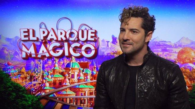 """David Bisbal canta el tema de El Parque Mágico, que llega """"en un momento crucial"""