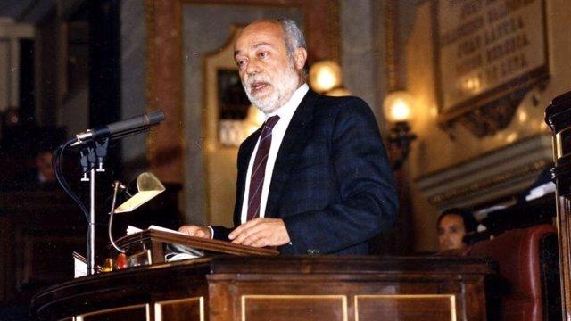 Eduardo Martín Toval, portaveu del PSOE al Congrés 1985-1993
