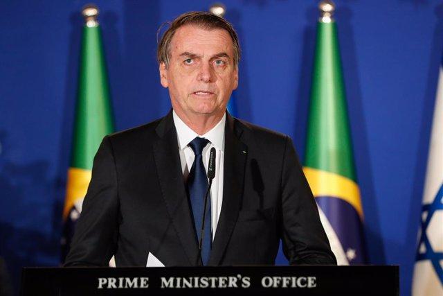 Brazilian President Jair Bolsonaro in Israel