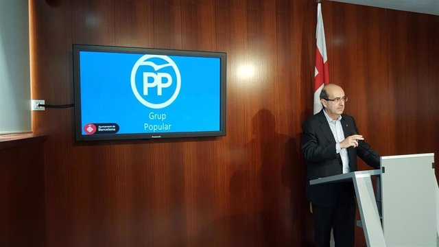 El concejal del PP Javier Mulleras