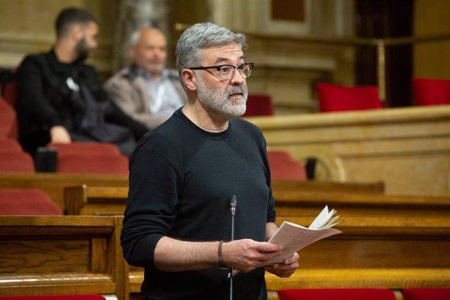 La CUP pide anular la nueva plaza de asesor del presidente del Parlament dotada