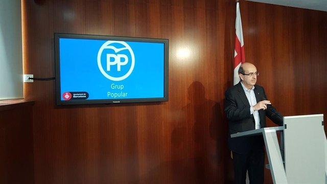 El regidor del PP Javier Mulleras