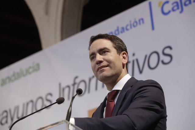 """AV.- Egea afirma que la gestión de Moreno es """"la mejor carta de presentación"""" de"""