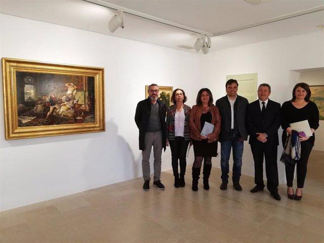 El Museu de Mallorca acoge hasta mayo ocho pinturas catalogadas como BIC cedidas