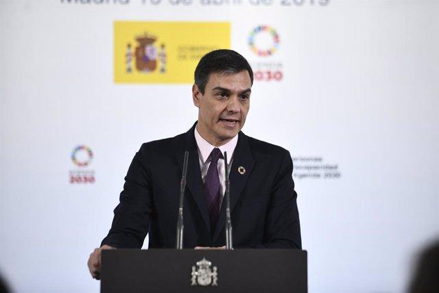 28A.- Sánchez defiende el acuerdo de equiparación salarial entre policías y limi