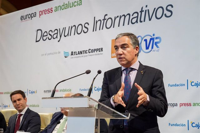 Desayunos Informativos de Europa Press Andalucía, García Egea