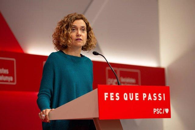 La ministra de Política Territorial y Función Pública de España, Meritxell Batet