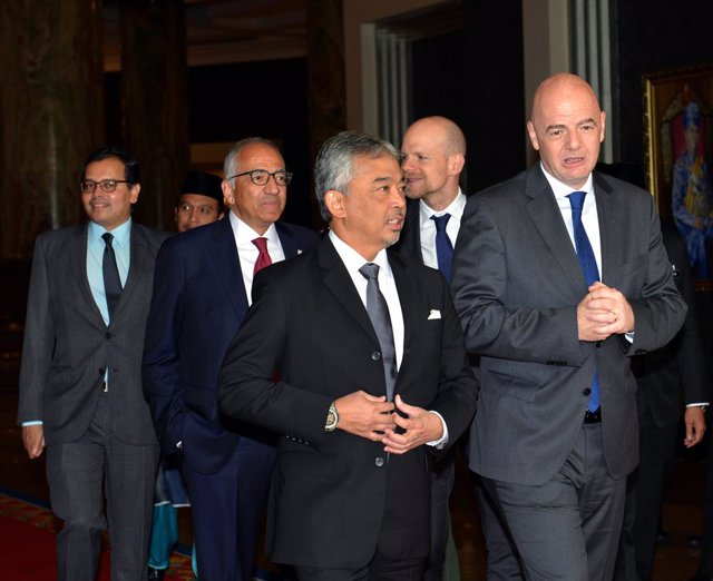 FIFA president Gianni Infantino visits Malaysia