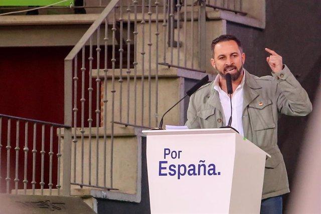 28A.- Santiago Abascal participará este jueves en un acto en Toledo