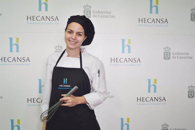 Una estudiante de Hecansa, finalista del premio nacional Promesas de la Alta Coc