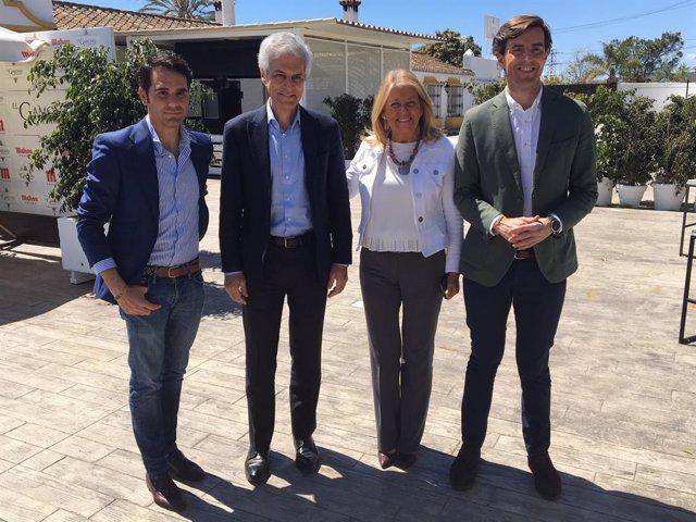 """28A.- Suárez Illana Demana """"Resembrar La Concòrdia De la Constitució"""" A Cataluny"""