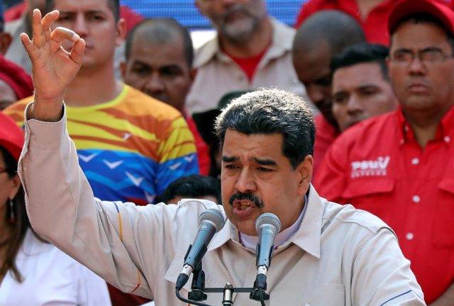 Venezuela.- Pompeo define a Maduro como una amenaza a la seguridad nacional de EEUU