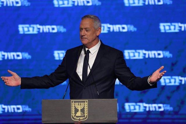 Israel.- El partido de Gantz reconoce su derrota en las elecciones generales en
