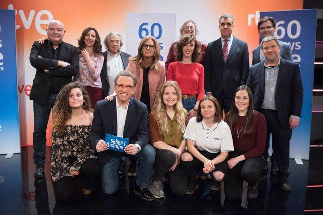 TVE Catalunya celebra 60 anys de la seva primera emissió amb una programació especial