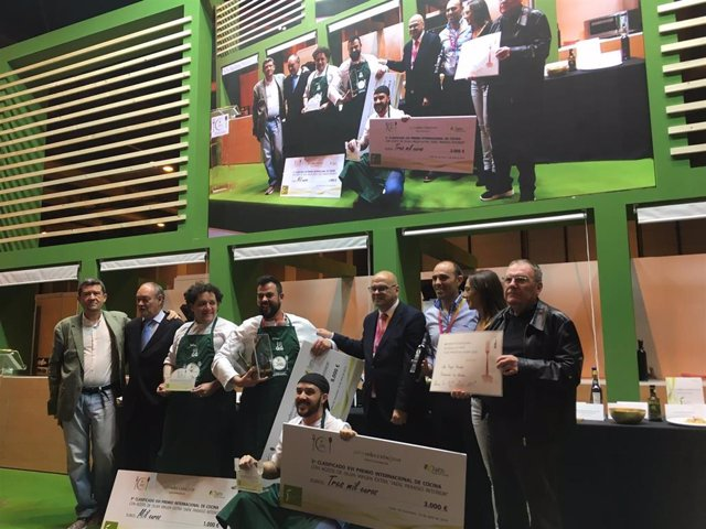Jaén.- MásJaén.- Lalo Reyes, de Los Sentidos de Linares, gana el XVI Premio de Cocina con AOVE Jaén, paraíso interior