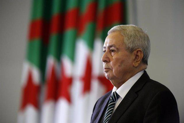 Argelia.- Bensalá anuncia que Argelia celebrará elecciones presidenciales el 4 d