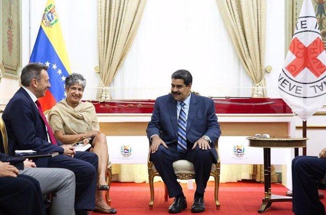 Venezuela y el Comité Internacional de la Cruz Roja acuerdan extender la cooperación humanitaria