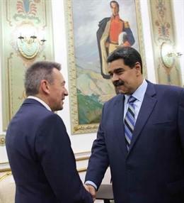 """Venezuela.- Maduro sostiene una """"extraordinaria reunión"""" con el presidente del CICR sobre la situación humanitaria"""