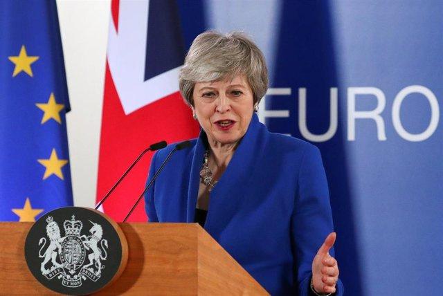 Brexit.- May intentará aprobar el acuerdo del Brexit en mayo para no tener que participar en las elecciones europeas