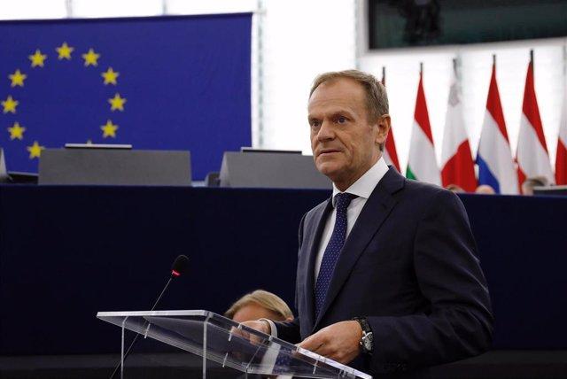 Brexit.- Tusk convoca una cumbre de líderes europeos el 10 de abril tras el tercer rechazo al acuerdo del Brexit