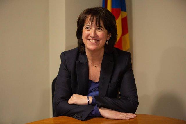 Retrats de la presidenta de l'Assemblea Nacional Catalana (ANC), Elisenda Paluzie