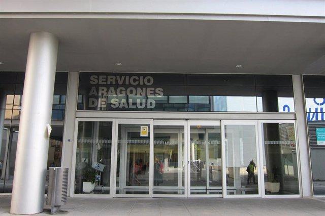 Fachada del Servicio Aragonés de Salud, Salud