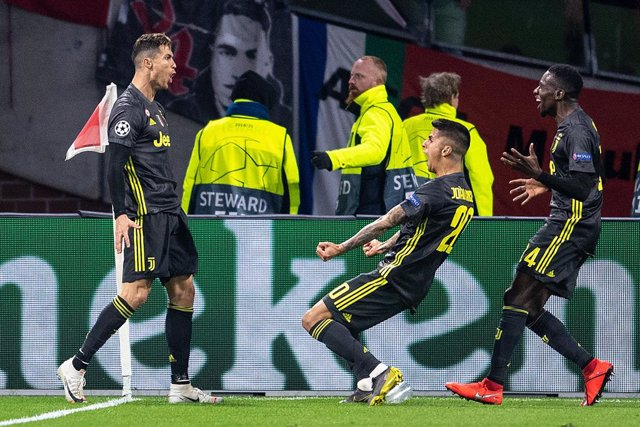 UEFA Champions League -Ajax Amsterdam vs Juventus