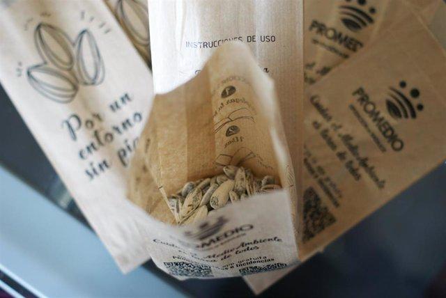 "[Badajoz] Nota Informativa. Promedio Distribuye 27.500 ""Pipeleras"" Para Cáscaras"