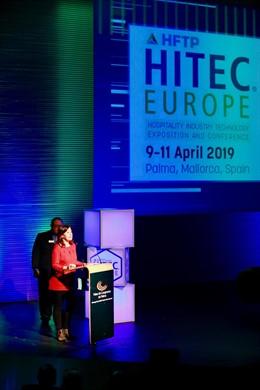"""Armengol resalta en 'Hitec Europe' que Baleares """"está preparada"""" para ser """"líder"""" en economía del conocimiento"""