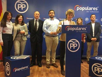 """Tejerina ofrece un PP que trabaja """"por los ciudadanos"""" frente al PSOE que se dedica a pagar """"caprichos"""" a Torra"""
