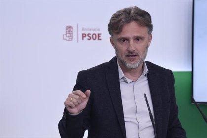 """PSOE-A denuncia """"utilización partidista"""" de la Junta con la firma pública de Moreno del decreto de medidas fiscales"""
