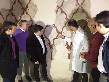 Las pinturas murales del siglo XII restauradas en los Baños Árabes  serán visitables a partir de mayo