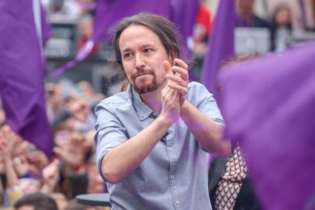 28A.- Pablo Iglesias anunciará en Zaragoza la creación de una unidad especial pa