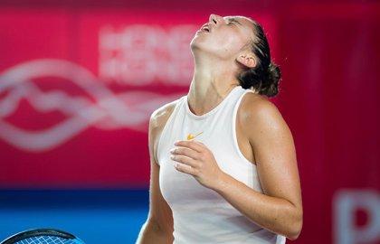 Sara Sorribes se mete en los cuartos de final de Bogotá