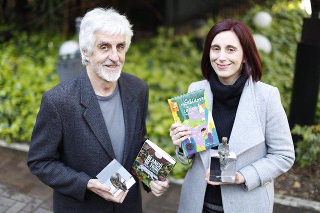COMUNICADO: Beatriz Osés y Andrés Guerrero, ganadores de los Premio SM El Barco de Vapor y Gran Angular 2019