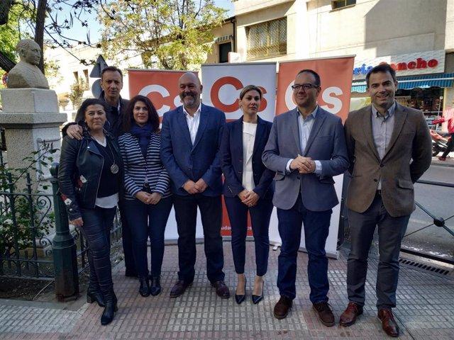 26M.- Francisco Alcántara (Cs) Anuncia Una Oficina Municipal Para Captar Empresas Privadas En Cáceres