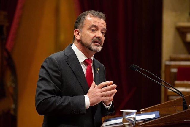 Se reanuda el pleno en el Parlament de Cataluña