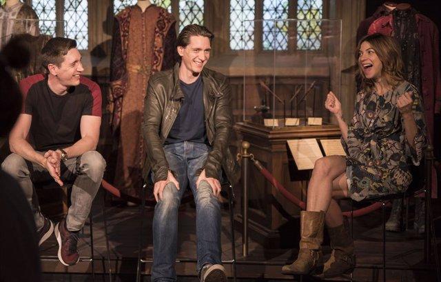Natalia Tena y JAMES y OLIVER PHELPS PROMOCIONAN la exposición 'Harry Potter. The Exhibition' en el Museu de les Ciències de Valencia