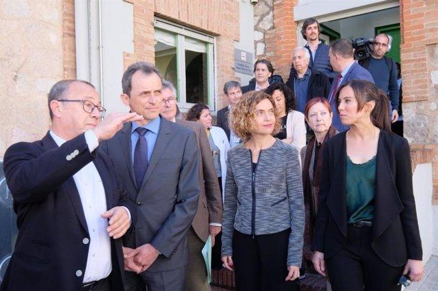 """28A.- Batet espera """"hechos diferentes"""" de ERC y recuerda que se negaron a debatir los PGE"""