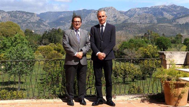 El doctor Enrique García, nuevo vicerrector de Investigación e Internacionalización de la UIB