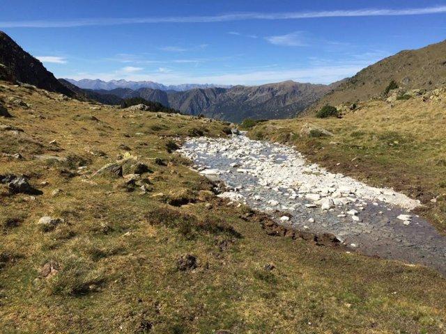 Barranco en el Parc Natural de l'Alt Pirineu